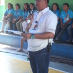 Taniman Action Disaster Shelter Federation takes oath. (2)
