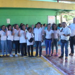 Taniman Action Disaster Shelter Federation takes oath. (5)