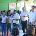 Taniman Action Disaster Shelter Federation takes oath. (8)