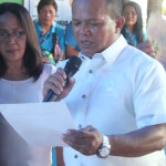 Taniman Action Disaster Shelter Federation takes oath. (9)
