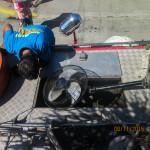 Batasan Hills Fire Brigade maintains the barangay fire truck on a regular basis. (11)