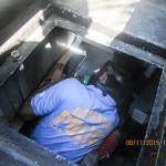 Batasan Hills Fire Brigade maintains the barangay fire truck on a regular basis. (6)