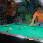 Capt. Abad and Kgd. Santos represent Batasan Hills in Haligi ng mga Barangay Mini-Olympics 2015 – Husay sa Billiards. (3)