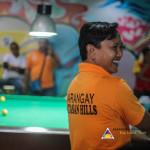 Capt. Abad represents Batasan Hills in Haligi ng mga Barangay Mini-Olympics 2015 – Husay sa Billiards. (1)