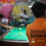 Capt. Abad represents Batasan Hills in Haligi ng mga Barangay Mini-Olympics 2015 – Husay sa Billiards. (3)