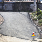 Pook Pag-asa residents are grateful for the now asphalted main road in their area. (1)