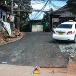 Pook Pag-asa residents are grateful for the now asphalted main road in their area. (2)