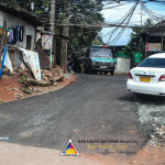 Pook Pag-asa residents are grateful for the now asphalted main road in their area. (3)