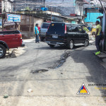 Pook Pag-asa residents are grateful for the now asphalted main road in their area. (4)