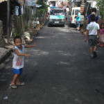Pook Pag-asa residents are grateful for the now asphalted main road in their area. (5)