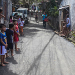 Pook Pag-asa residents are grateful for the now asphalted main road in their area. (6)