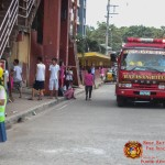 Barangay employees assist BHNHS students during earthquake drill. (6)