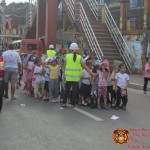 Barangay employees assist PCCAES pupils during earthquake drill. (30)