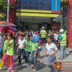 Barangay employees assist PCCAES pupils during earthquake drill. (32)