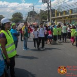 Barangay employees assist PCCAES pupils during earthquake drill. (38)