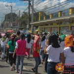 Barangay employees assist PCCAES pupils during earthquake drill. (39)
