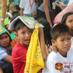 Barangay employees assist PCCAES pupils during earthquake drill. (42)