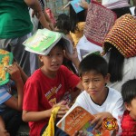 Barangay employees assist PCCAES pupils during earthquake drill. (43)