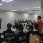 Barangay fire brigade heads concur to creation of National Volunteer Fire Council. (16)