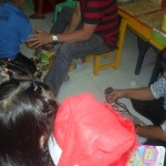 Kgd. Custodio grants Christmas wishes of day care pupils. (5)