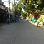 BCPC and Lupon Tagapamayapa's conduct clean-up drive. (18)