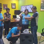 BCPC receives a portable sound system from Capt. Abad. (3)