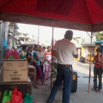 Kgd. Miras gives away groceries and cash to Consti residents. (4)