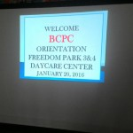 BCPC Orientation at Freedom Park 3 & 4 Daycare Center (1)