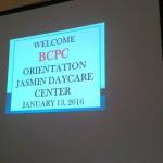 BCPC Orientation at Jasmin Daycare Center (1)