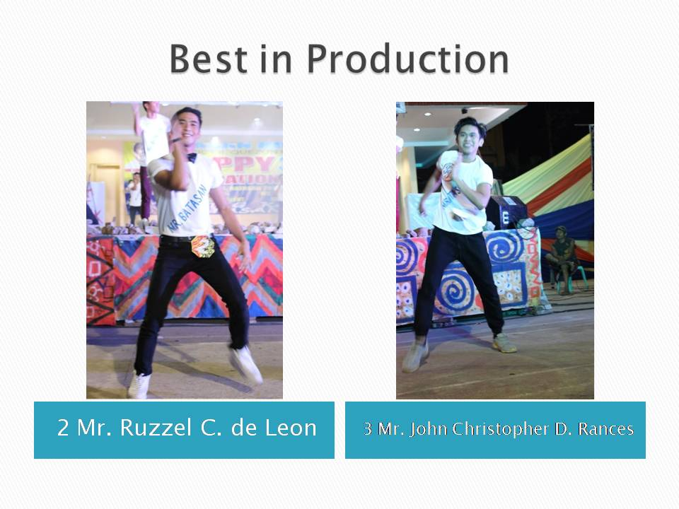 Best in Production Number