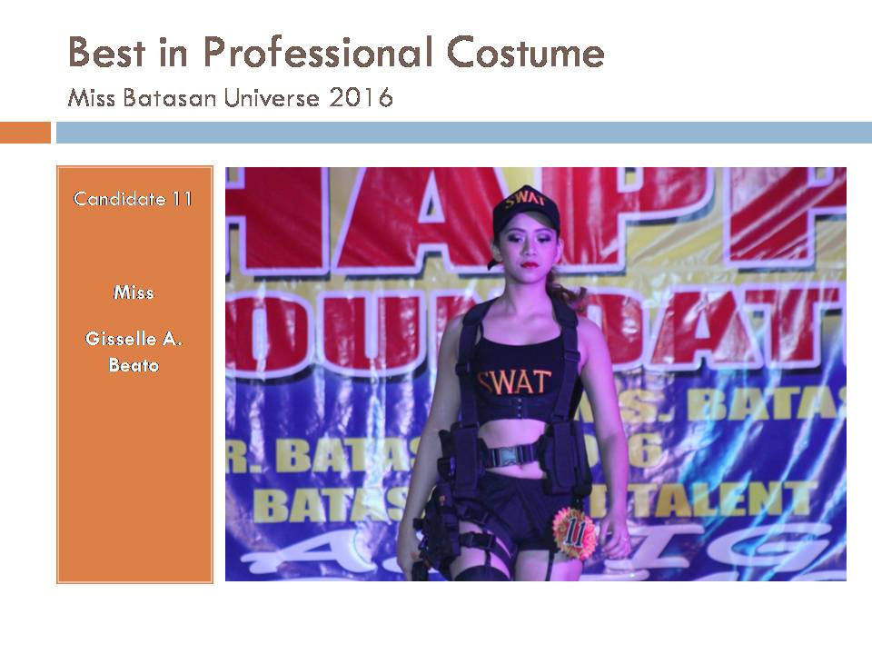 Best in Professional Costume