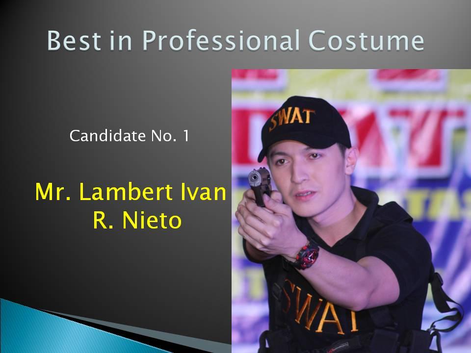 Best in Professional Costume