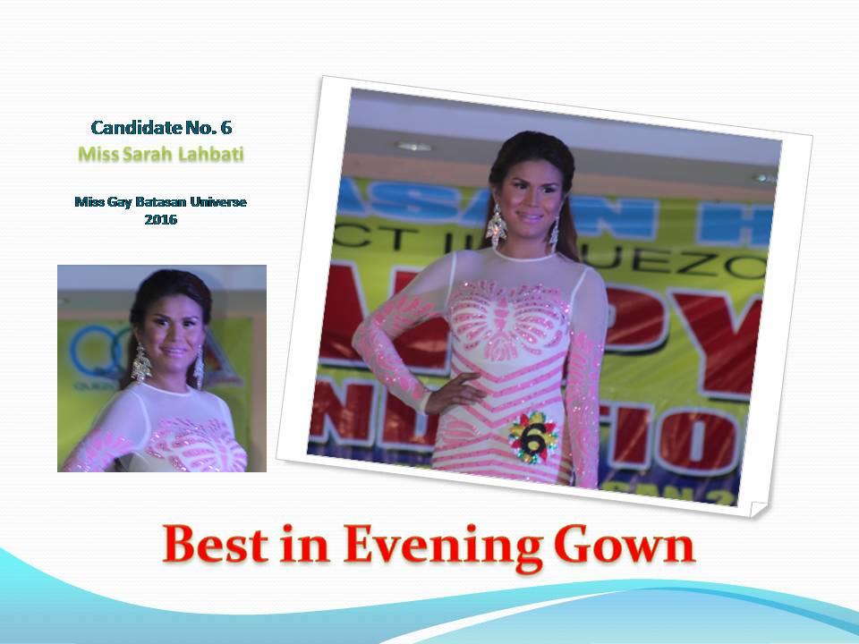 Best in Evening Gown
