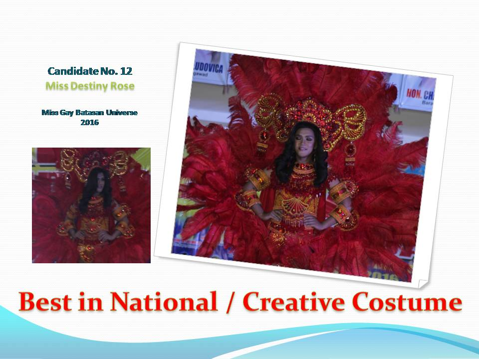Best in National or Creative Costume