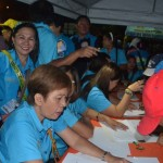 Barangay employees and volunteers (2)