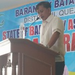 Capt. Abad reports the state of the barangay for the 5th time. (10)
