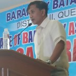 Capt. Abad reports the state of the barangay for the 5th time. (9)