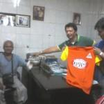 Coun. Medalla provides Shirts for Drivers (4)