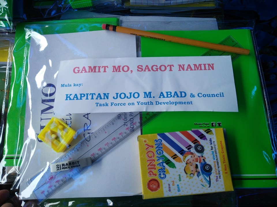 "Cluster 8 Indigents benefit from ""Gamit Mo, Sagot Namin"""