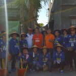 KBH Cares sweeps Congressional Road (1)