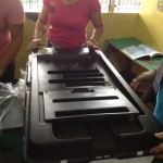 PCCAES invites Barangay Employees to Test PCOS Machines (14)