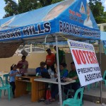The Batasan Hills Council enforces all possible assistance on election day (14)