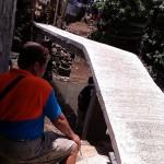 Taniman Residents construct Bridge (6)