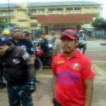 Kaisa Batasan carries CguradoNACO in a Motorcade (1)