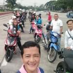 Kaisa Batasan carries CguradoNACO in a Motorcade (17)