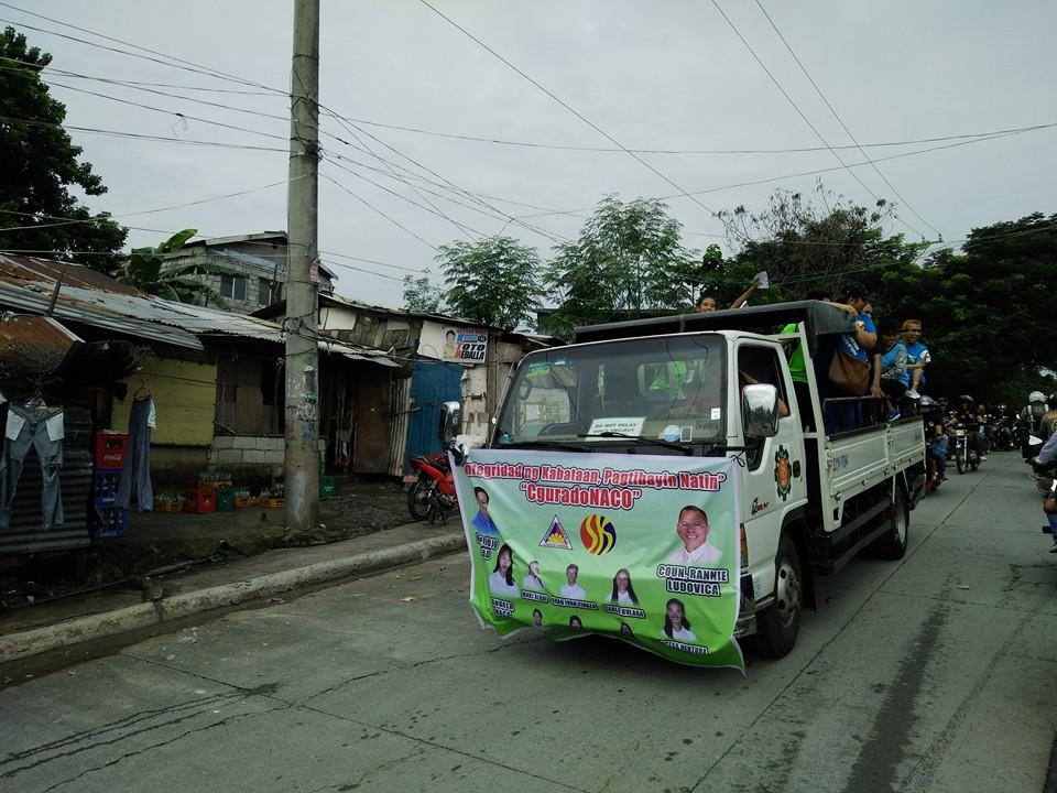 Kaisa Batasan carries CguradoNACO in a Motorcade (45)