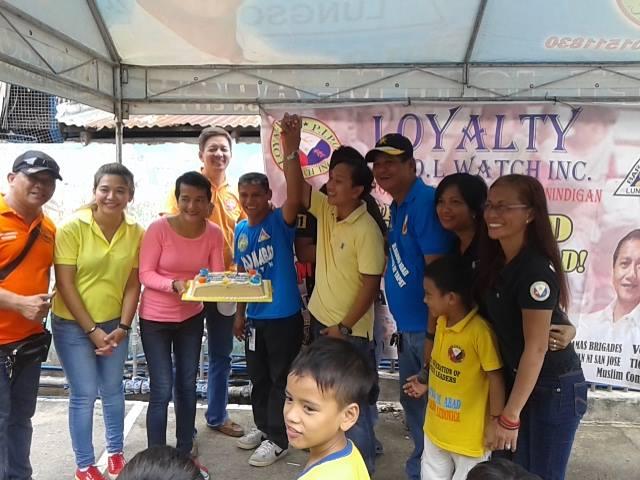 Kaisa Batasan celebrates Sec. Misolas and Purok Leader Dagioposo's Birthdays (1)